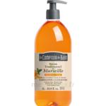 Acheter Savon de Marseille Mandarine-Sauge 1L Comptoir du bain à La-Valette-du-Var