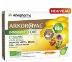 Acheter Arkoroyal Immunité Fort Solution buvable 20 Ampoules/10ml à La-Valette-du-Var