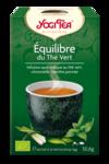 Acheter Yogi Tea Thé équilibre du thé vert bio 17 Sachets à La-Valette-du-Var