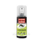 Acheter Cinq sur Cinq Zones Tempérées Lotion anti-moustique 100ml à La-Valette-du-Var