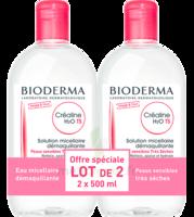 Acheter CREALINE TS H2O Solution micellaire sans parfum nettoyante apaisante 2Fl/500ml à La-Valette-du-Var