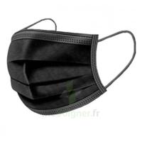 Masque Chirurgical Noir B/50 à La-Valette-du-Var