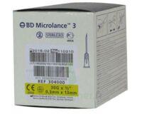 Bd Microlance 3, G30 1/2, 0,30 Mm X 13 Mm, Jaune  à La-Valette-du-Var