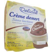 Delical Creme Dessert Hp Hc Sans Lactose, Pot 200 G X 4 à La-Valette-du-Var