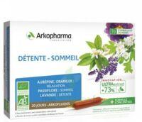 Arkofluide Bio Ultraextract Solution Buvable Détente Sommeil 20 Ampoules/10ml à La-Valette-du-Var