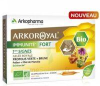 Arkoroyal Immunité Fort Solution Buvable 20 Ampoules/10ml à La-Valette-du-Var