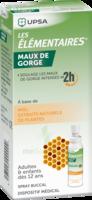 Les Elementaires Solution Buccale Maux De Gorge Adulte 30ml à La-Valette-du-Var