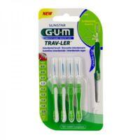 Gum Trav - Ler, 1,1 Mm, Manche Vert , Blister 4 à La-Valette-du-Var