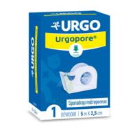 Urgopore Plus Sparadrap 2,5cmx7,5m Dévidoir à La-Valette-du-Var