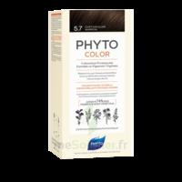 Phytocolor Kit Coloration Permanente 5.7 Châtain Clair Marron à La-Valette-du-Var