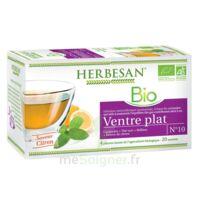Herbesan Infusion Bio Tisane Ventre Plat 20 Sachets à La-Valette-du-Var