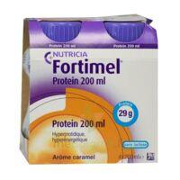 Fortimel Protein Nutriment Caramel 4 Bouteilles/200ml à La-Valette-du-Var