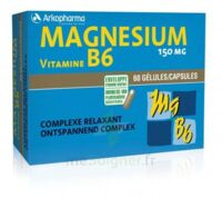 Arkovital Magnésium Vitamine B6 Gélules B/120 à La-Valette-du-Var