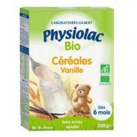 Physiolac Céréales Vanille Bio B/200g à La-Valette-du-Var